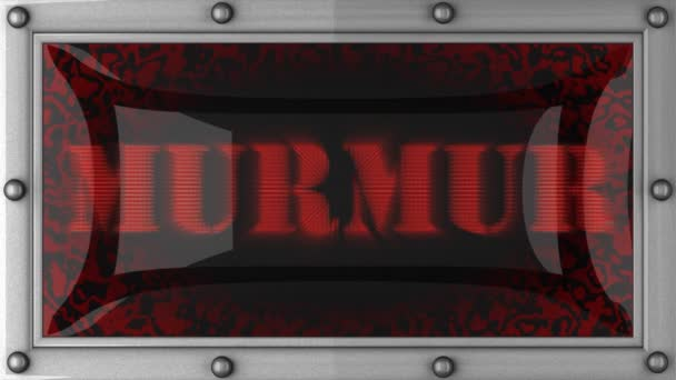 Murmur on led
