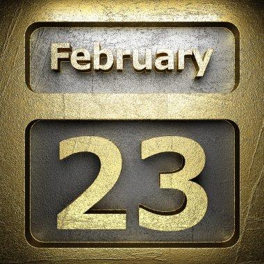 february 23 golden sign