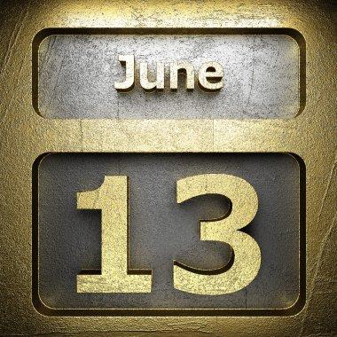 june 13 golden sign