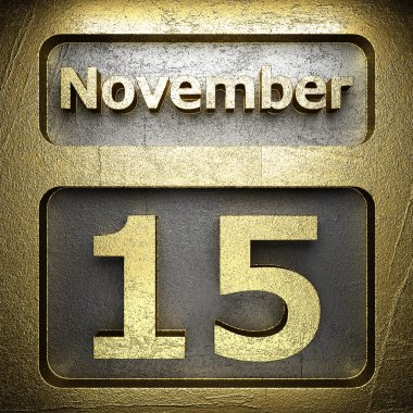 november 15 golden sign