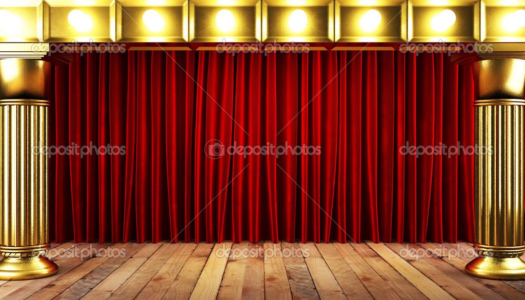Vorhang Theater Galerie : Das theater