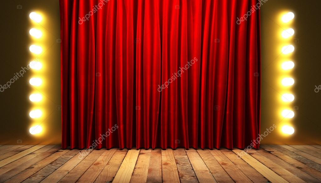 Vorhang Theater Galerie : Vorhang theater rendering powerpoint schablone id
