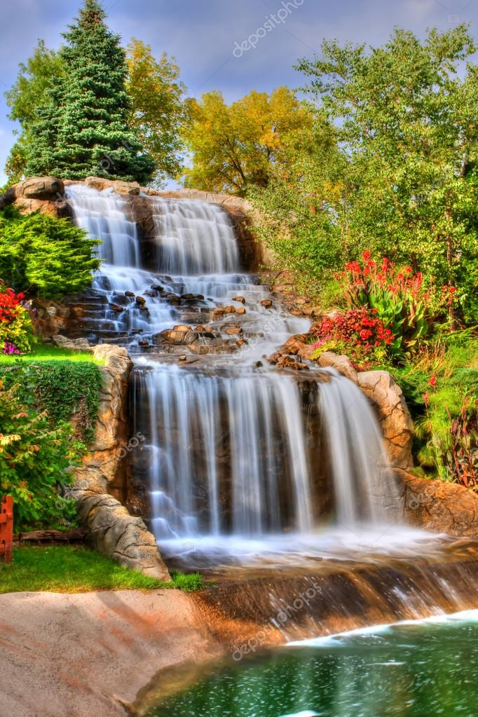 Silky Waterfall in High Dynamic Range