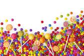 smíšené barevné sladkosti