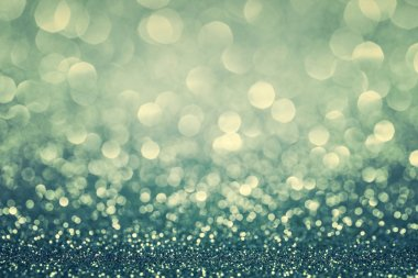 Blue glitter christmas background