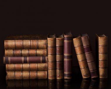 Old vintage books