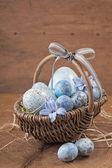 Velikonoční modrá vejce
