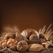 různé chléb