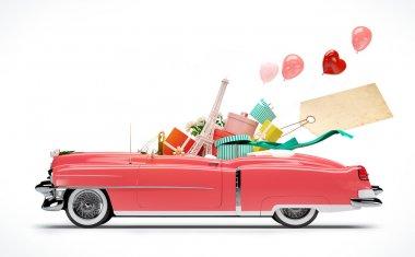 "Картина, постер, плакат, фотообои ""автомобиль покупок"", артикул 46127715"