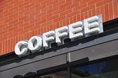 Fotografie Coffee-Shop-Beschilderung