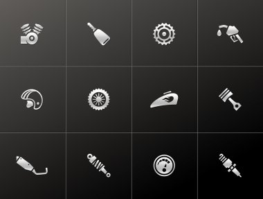 Hand tools icon series in Metro style.