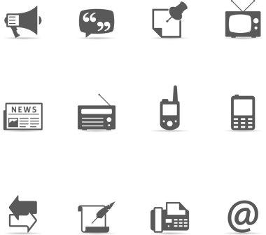 Communication icon series.
