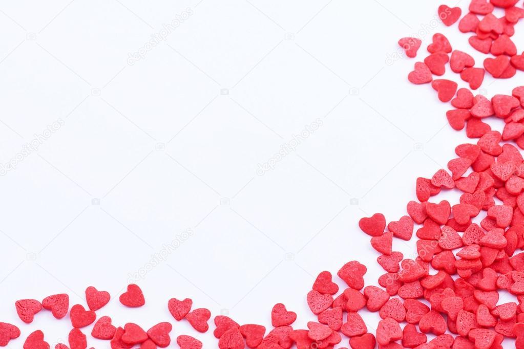 Hearts frame — Stock Photo © stahov #18574345