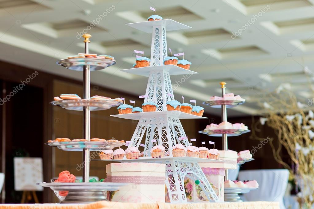 Nice Wedding Cakes Stock Photo 25878327