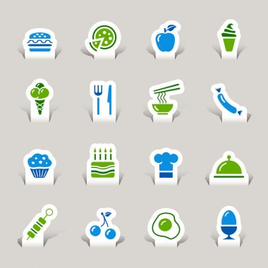 Papercut - Food Icons