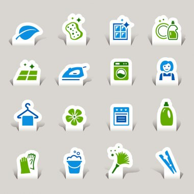 Papercut - Cleaning Icons