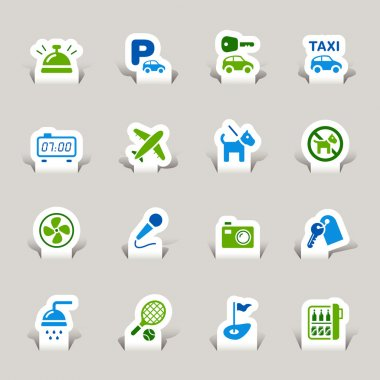 Papercut - Hotel Icons