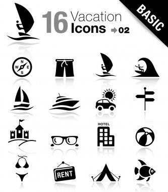 Basic - Vacation Icons