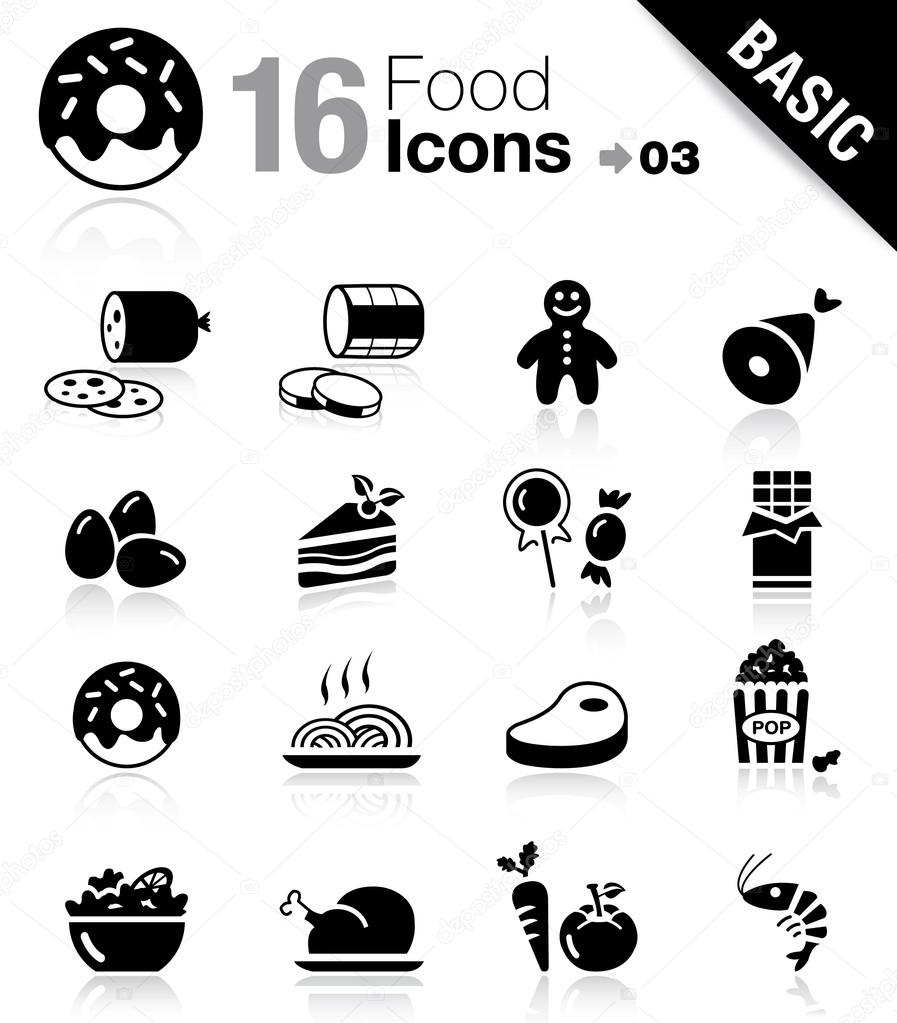 "16 ""food and restaurant"" icons set"
