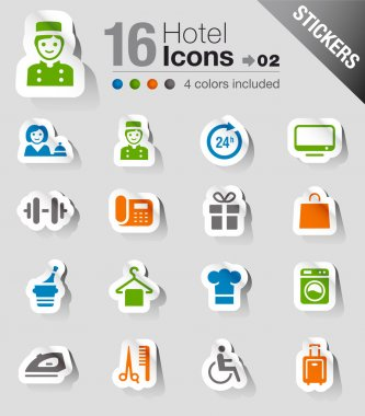 Stickers - Hotel icons