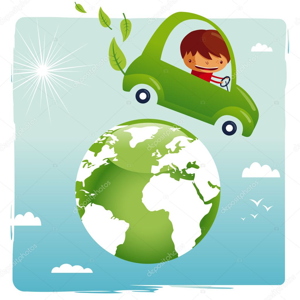 Green car - save our planet