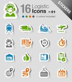 Samolepky - logistická a přepravní ikony