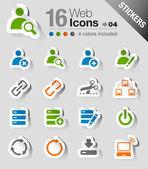 Samolepky - webové stránky a internetové ikony