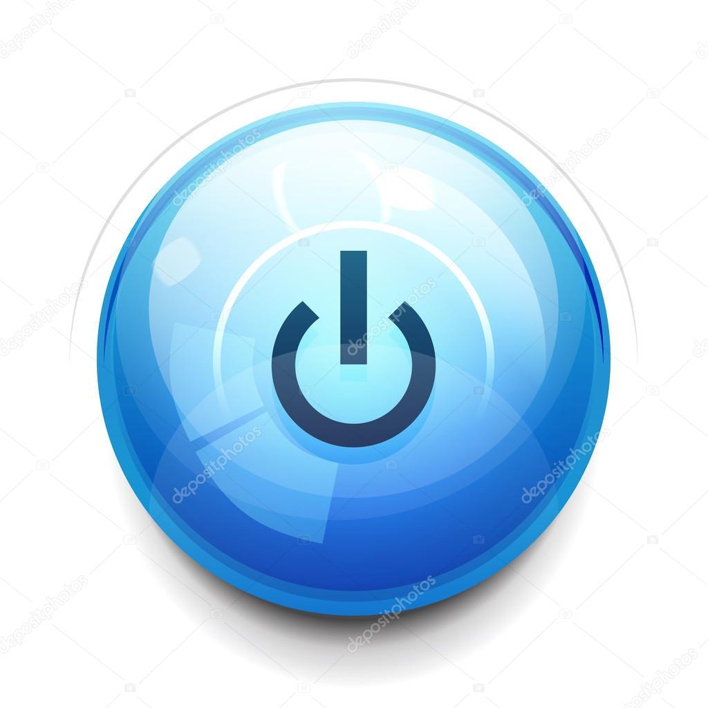 Power Button Stock Vector Akomov 13668957 Electric Circuit Symbol Element Set Illustration Vectorielle Libre De