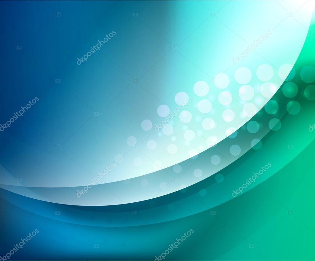 Aqua waves abstract background