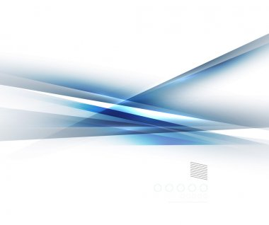 Blue light shadow straight lines design
