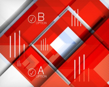Infographic abstract background