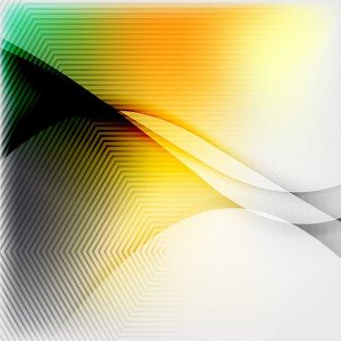 Textured blurred color wave background