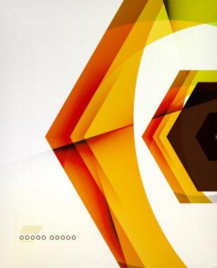 Arrow Geometric Shape Abstract Business Background