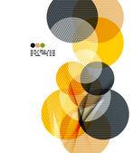 Fényképek világos sárga geometriai modern tervezősablon