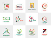 Photo Collection of company logos, business concepts