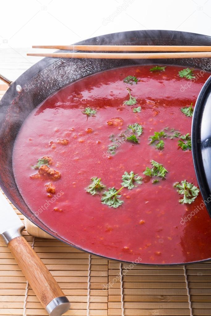 Chinska Zupa Pomidorowa Zdjecie Stockowe C Dar19 30 21355863