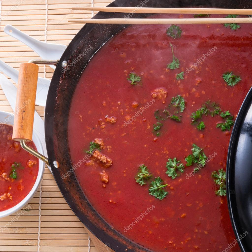Chinska Zupa Pomidorowa Zdjecie Stockowe C Dar19 30 21385223