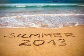 Konzept Foto der Sommerferien