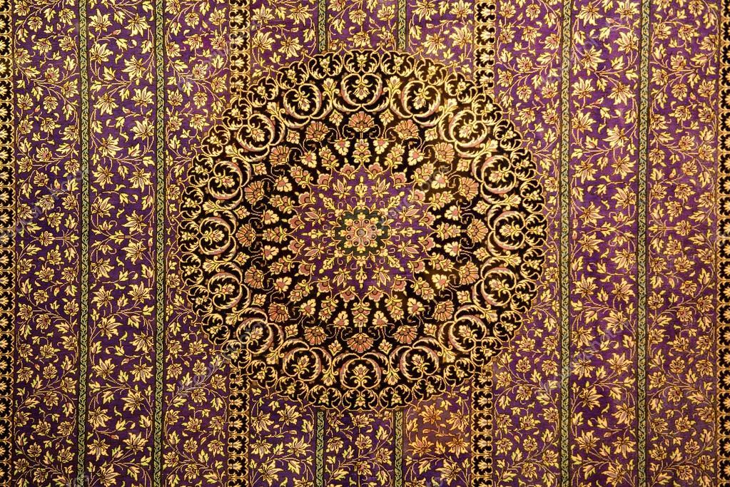 orientalische muster ornament f r teppich stockfoto. Black Bedroom Furniture Sets. Home Design Ideas