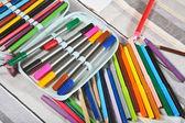 Photo Open pencil case