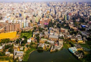 Aerial of Dhaka, Bangladesh