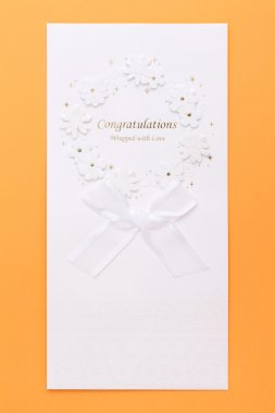 Congratulatory card