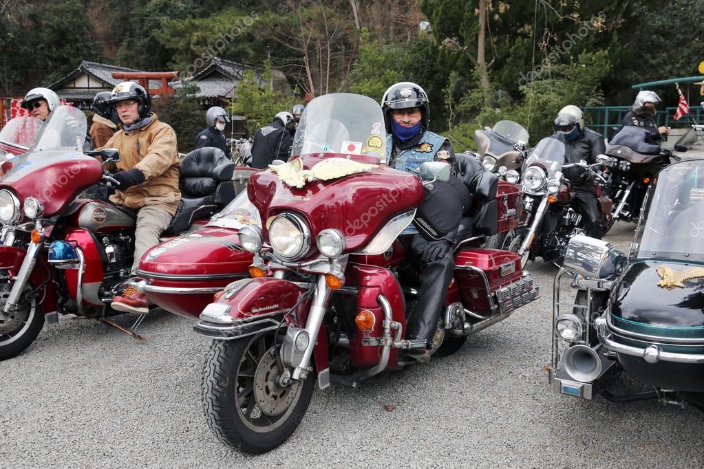 Harley Davidson sidecar, Japan – Stock Editorial Photo
