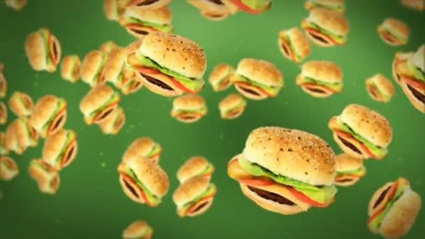 cheeseburgery na zelené