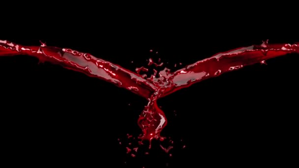 Vér Splash-fekete ellen