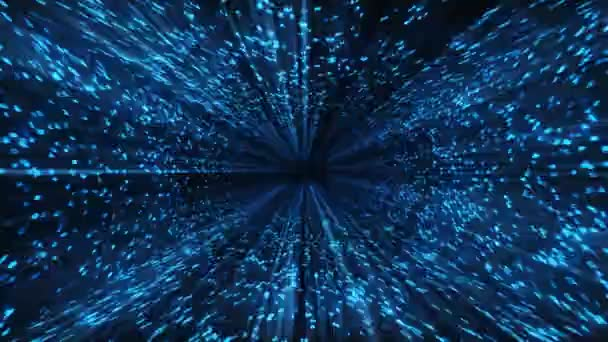 MATRIX blue shine,loop