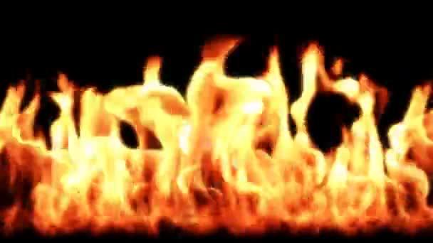 plameny, bezešvé smyčka