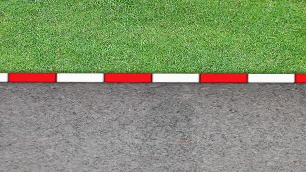 pozadí závodní Formule 1 se zvukem