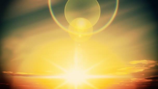 Slunce vychází časová prodleva na odpoledne