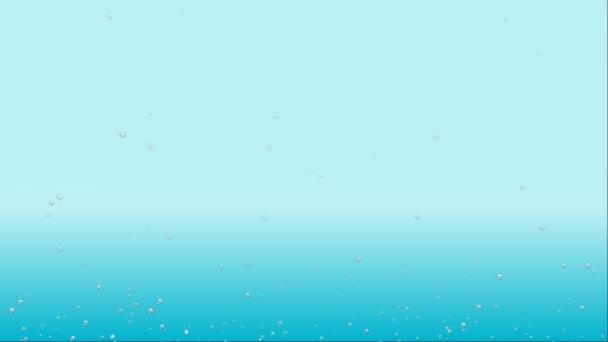 vody bubliny roste